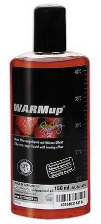 Warm Up Melegítő hatású olaj (eper ízben)