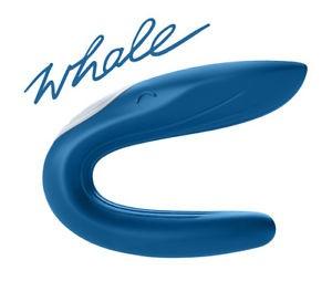 Satisfyer Partner Whole Blue vibrátor