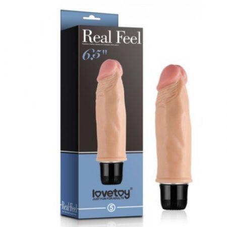 """Real Feel élethű vibrátor - kicsi 6,5"""" (6)"""