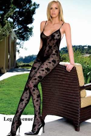 Cica ruha virágos Leg Avenue 8456