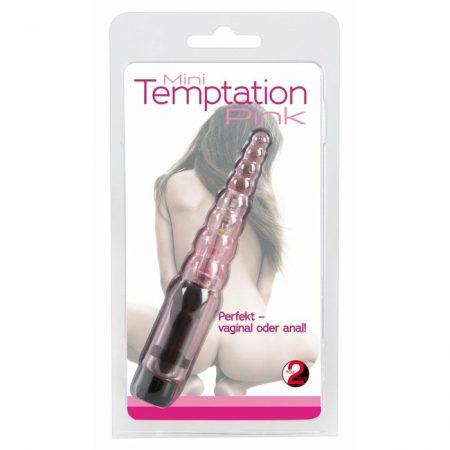 -  Mini Temptation - Anál Vibrátor - Pink