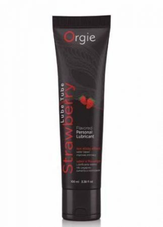 Orgie Lube Tube Strawberry 100ml epres síkosító