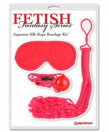 Japanese Silk Bondage Kit Red