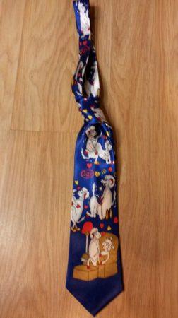 Szerelmes bárány nyakkendő