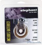 Elephant Cock fekete (péniszgyűrű)