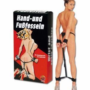 Hand- und  Fussfesseln  kéz és láb bilincs