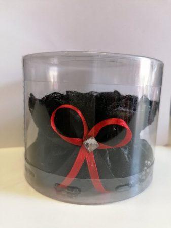 Legényfogó - Fekete Piros Masnival - ONE SIZE
