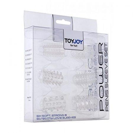 Toy Joy Power Penis Sleeve Set  6 db-os