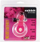 Rabbit cock ball harness Nyuszis csiklóizgatós péniszgyűrű rózsaszín