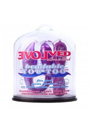 - Evolved Novelties Bendable You Too, Purple
