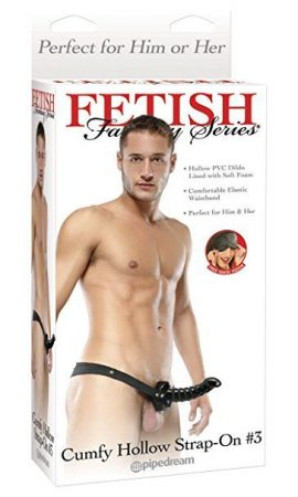 Pipedream Products Fetish Fantasy Series Cumfy Hollow Strap On
