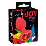 Colorful Joy Jewel Plug Medium lila