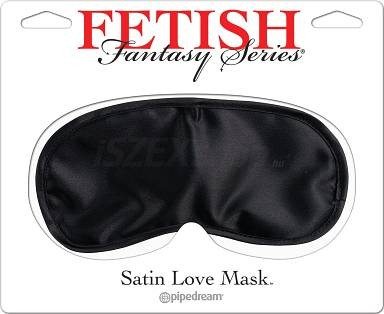 fetish fantasy series satin love mask piros/fekete