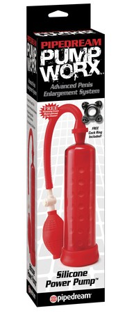 Pump Worx Silicone Power Pump PD3255-15 Red