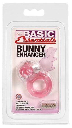 Basic Bunny Nyuszis vibrációs péniszgyűrű