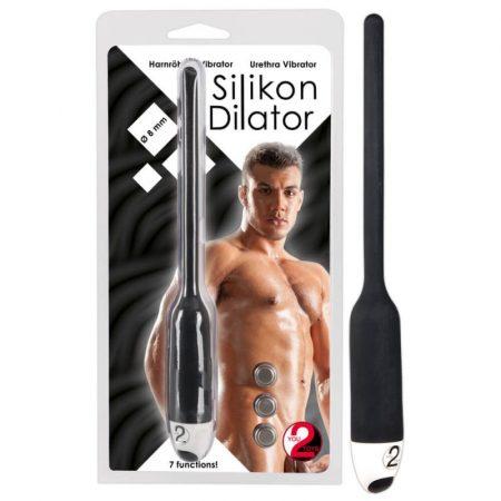 Silicon Dilátor Húgycső vibrátor (6 mm)