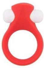 Dream Toys  Lit- Up  szilikon vibro péniszgyűrű ( piros)