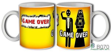 Game Over bögre