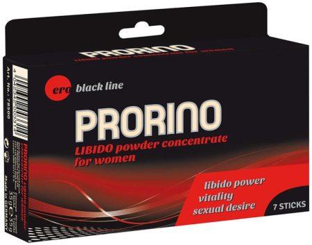 ERO PRORINO Fekete line libido powder concentrate for women