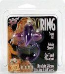 Cock ring vibrációs péniszgyűrű  lila nyuszis