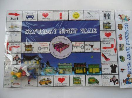 Saturday Night game társasjáték