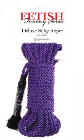 Fetish Fantasy Series Deluxe Silky Rope Purple