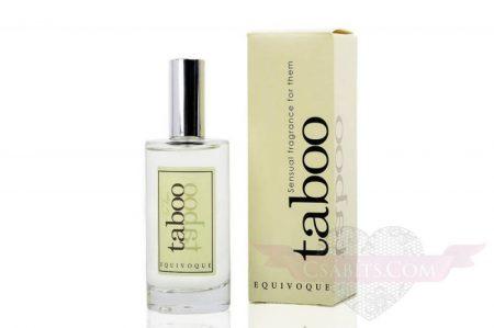TABOO Equivoque for them erotikus francia EDT parfüm mindkét nemnek 50ml