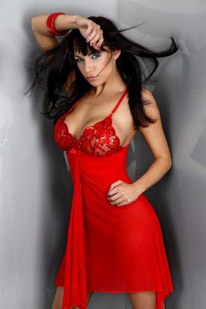 Red Queen hálóing tangával (LivCo)