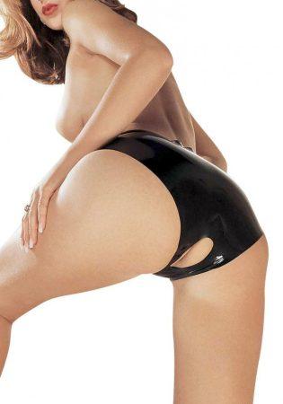 Latex Open Crotch Panties (latex nyitott bugyi)