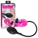 Exciting - csiklószívó minivibrátorral (pink)